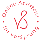 Logo vorSprung Online Assistenz Bianca Baumgartner
